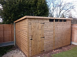Pent Security Shed
