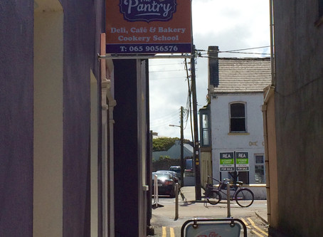 An Irish Grill at The Pantry, Kilkee, County Clare. Pop Would've Loved It.