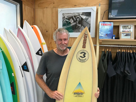 Zen and the Art of... Surfboard Shaping