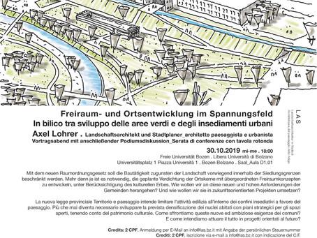 Freiraum- und Ortsentwicklung im Spannungsfeld
