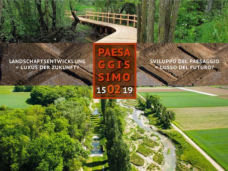 Tagung Landschaftsentwicklung = Luxus der Zukunft?