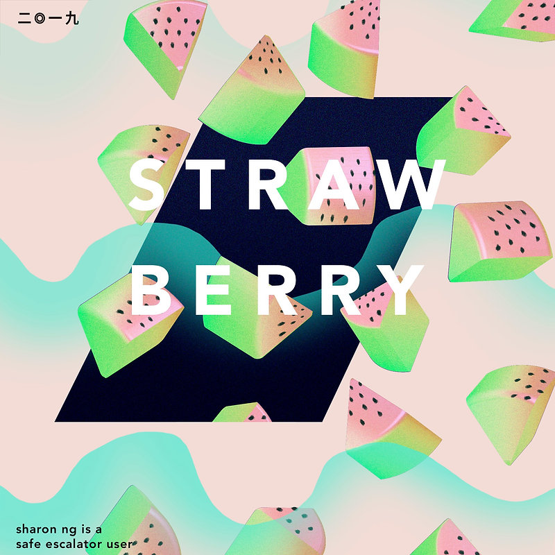 Pster_design_Strawberry
