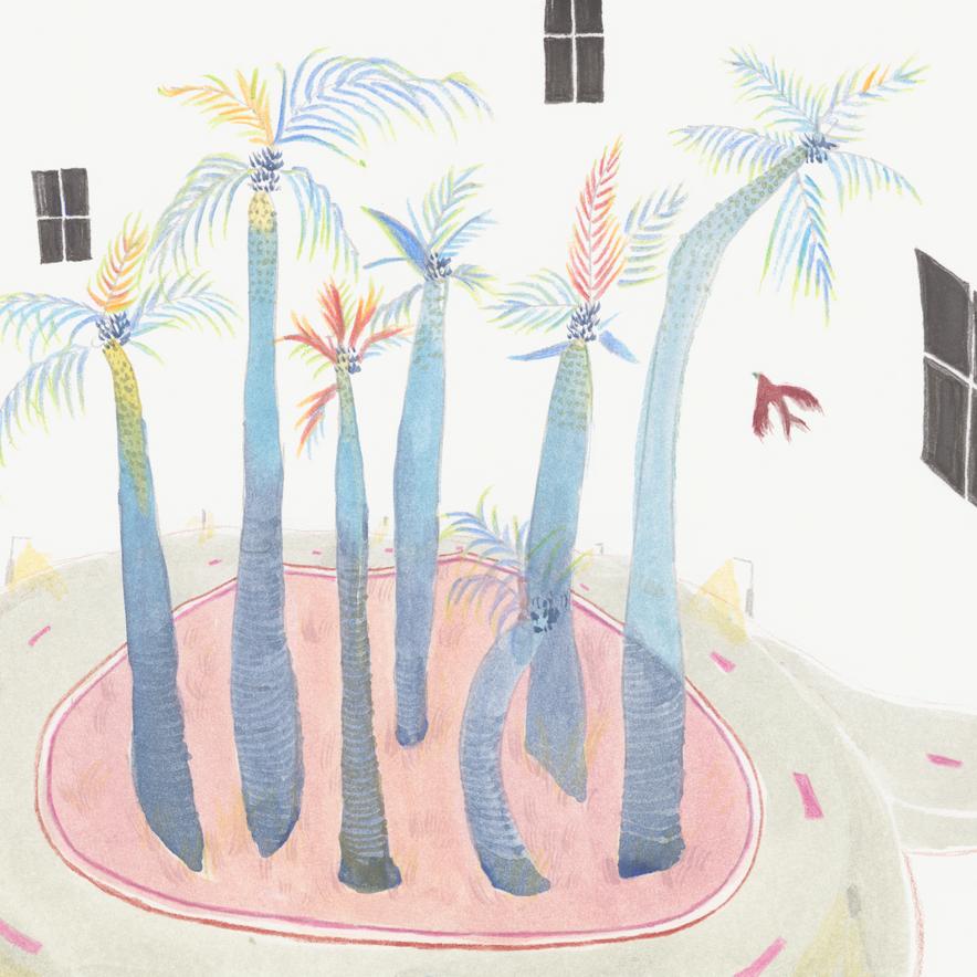 June 2019 illustration print