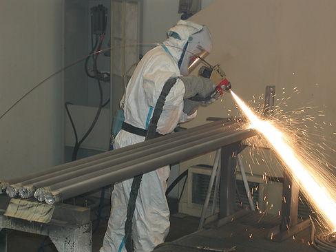 Metallizzazione con sistema Flame Spray