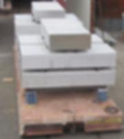 Omogeneizzazione blocchi di alluminio 5083