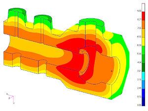 Simulazione termica di un trattamento di normalizzazione