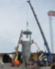 Rimontaggio apparecchio a pressione dopo coating