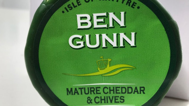 Isle Of Kintyre Mature Cheddar & Chives 200g