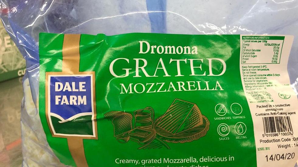 Grated Mozzarella 1Kg x 2