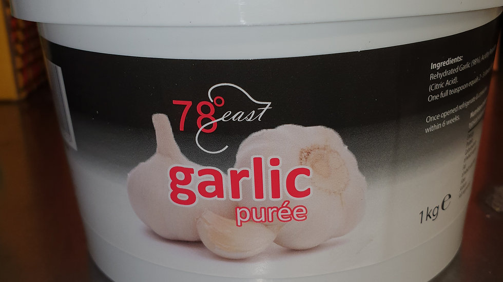 Garlic puree 1Kg