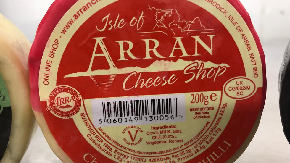 Arran  Chilli Cheese 200G