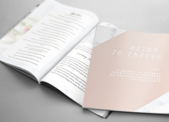 Align to Thrive Journal