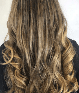 Extensions_Honey Balayage Two Row Europe