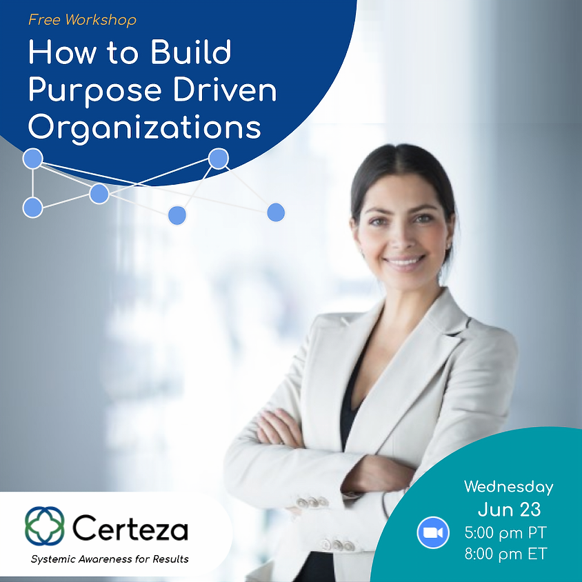 How to Build Purpose Driven Organizations