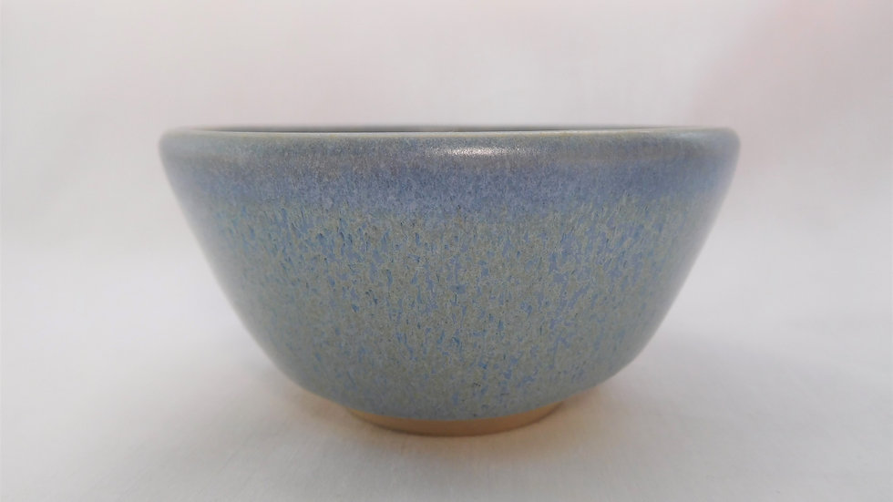 Variegated Satin Blue Trinket Bowl