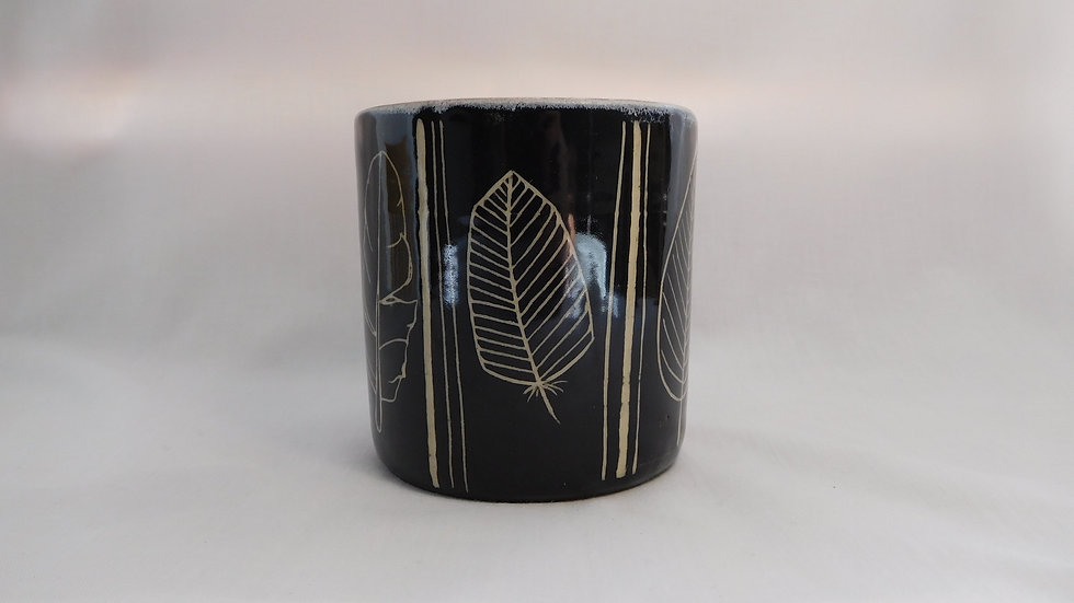 Black Feather Tumbler