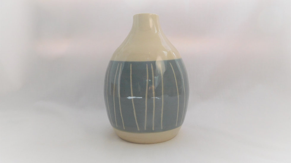 Stone Blue Bottle