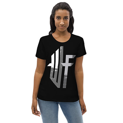 Women's fitted WF Center eco tee