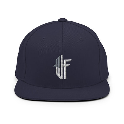 Silver and Grey Snapback Hat