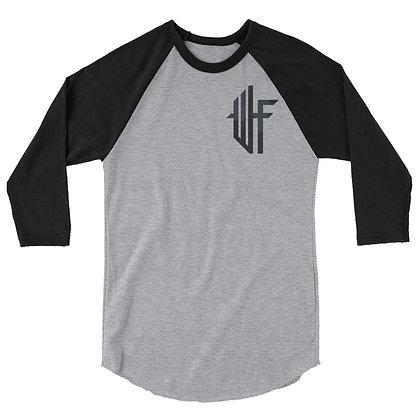 Male 3/4 sleeve raglan shirt