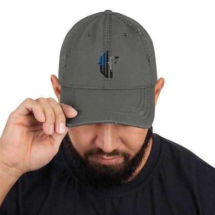 Won't Fail Distressed Dad Hat