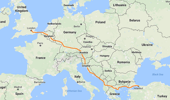 Guided Cycling Holidays Across Europe to Turkey