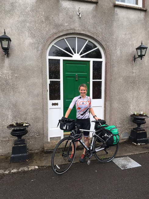 Cycling to Ireland - unsupported!