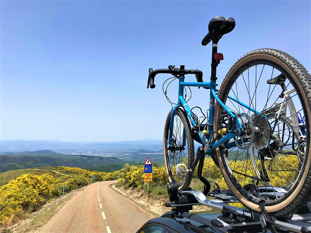Marin Bikes and Thule on the Camino