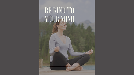Copy of Simple Meditating Mental Health