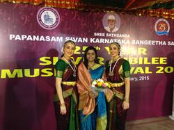 Students Performing in Chennai Sabha
