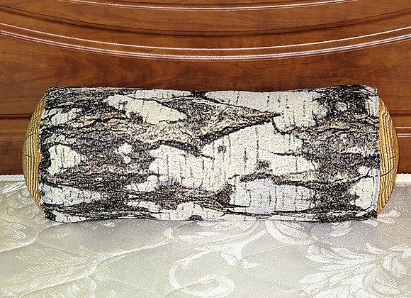 Гобеленовая подушка полено Береза