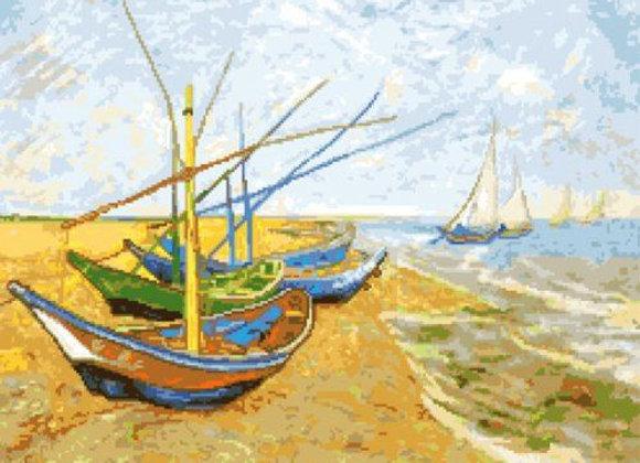 № 117 Лодки, Ван Гог
