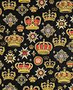 Короны; гобеленовая ткань