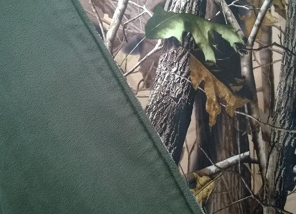 Ткань камуфляжная мембранная на флисе