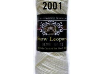 Пряжа Белый Леопард
