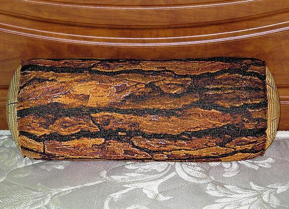 Гобеленовая подушка полено Кедр