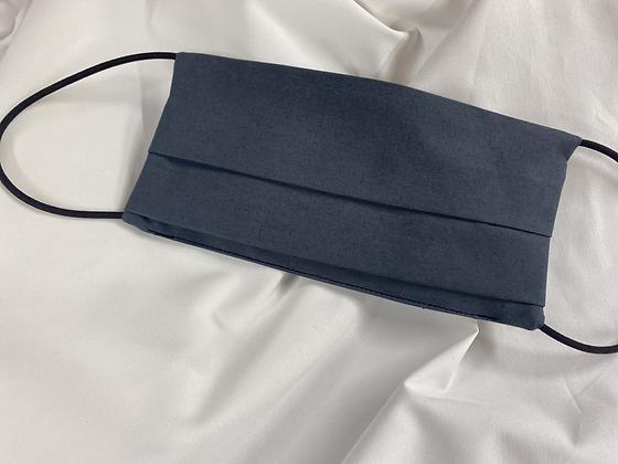 Masque Barrière Coton Supérieur 120 fils Gris avec Logo AS