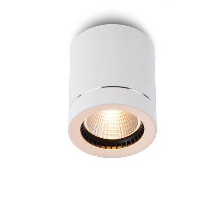 Накладной светильник D-003BW60 белый с черным ободком
