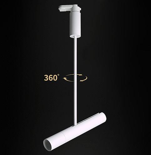 Трековый светильник поворотный 7Вт DT-063BW77 белый, черный