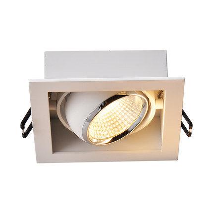 Встраиваемый светильник с рамкой DS-030B60 белый, черный
