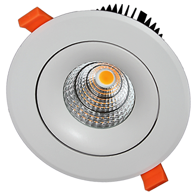 Встраиваемый светильник 7Вт DS-037B607 белый
