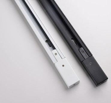 Шинопровод (ТРЕК, однофазный) 1м белый, черный