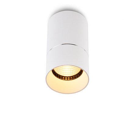 Накладной светильник D-001BW60 белый с черным ободком
