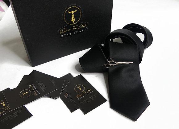 Slim Black Tie (Single)