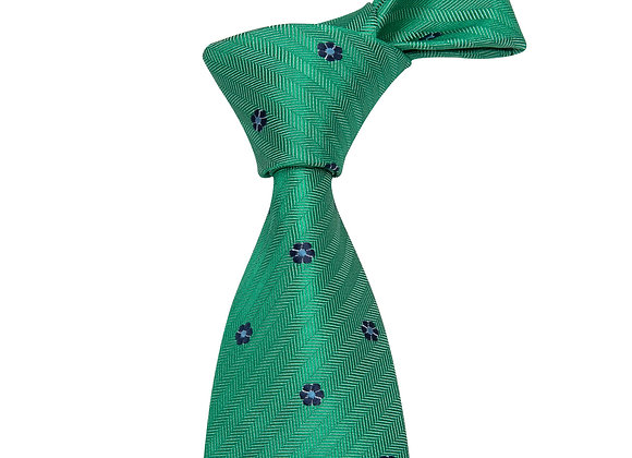 Fruitland Green Tie Gift Set
