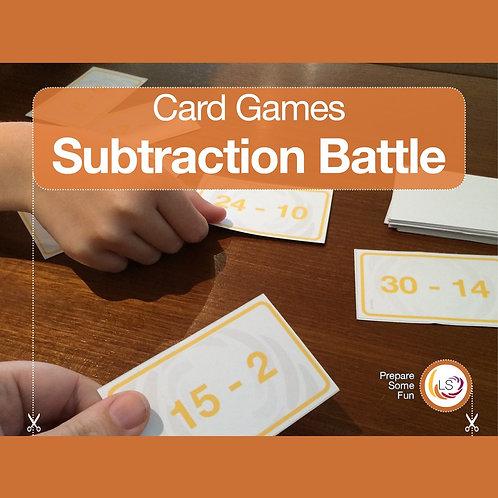 Subtraction Battle