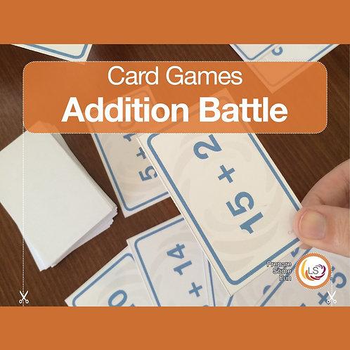 Addition Battle