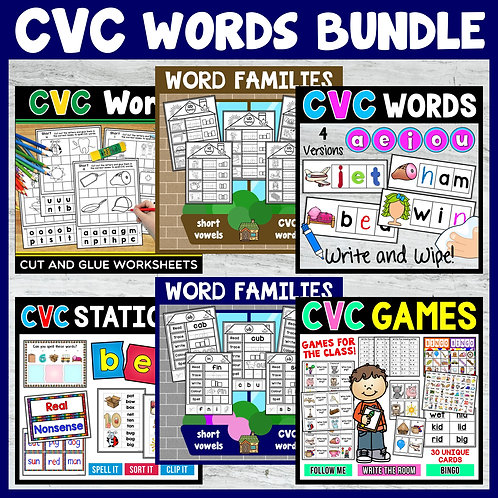 CVC Words Bundle
