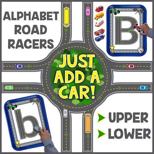 Alphabet Road Tracers