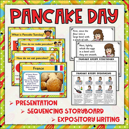 Pancake Day: Shrove Tuesday